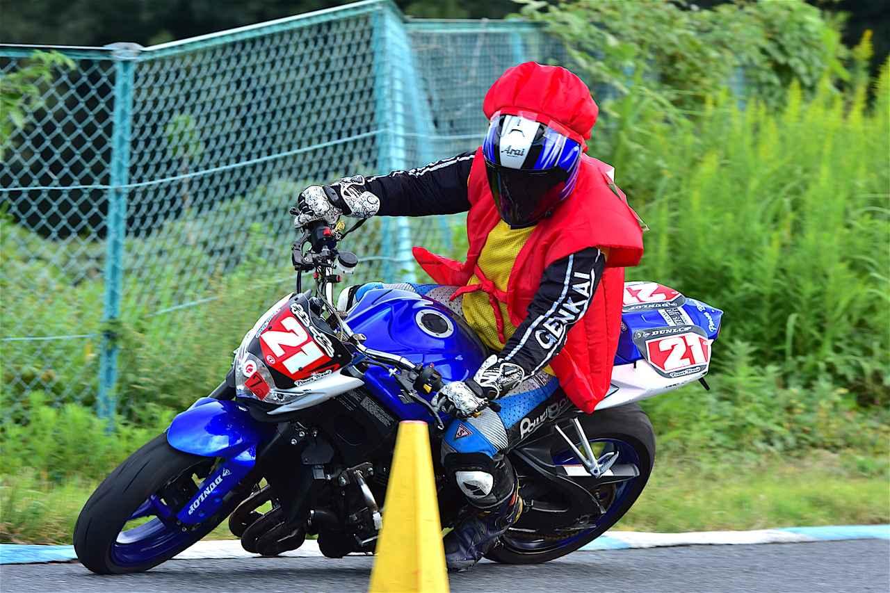 画像: A級24位・木村選手&GSX-R750 1分48秒403