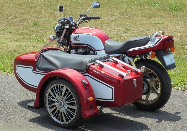 画像: Sakuma EngineeringよりCB750に似合うサイドカーが発売