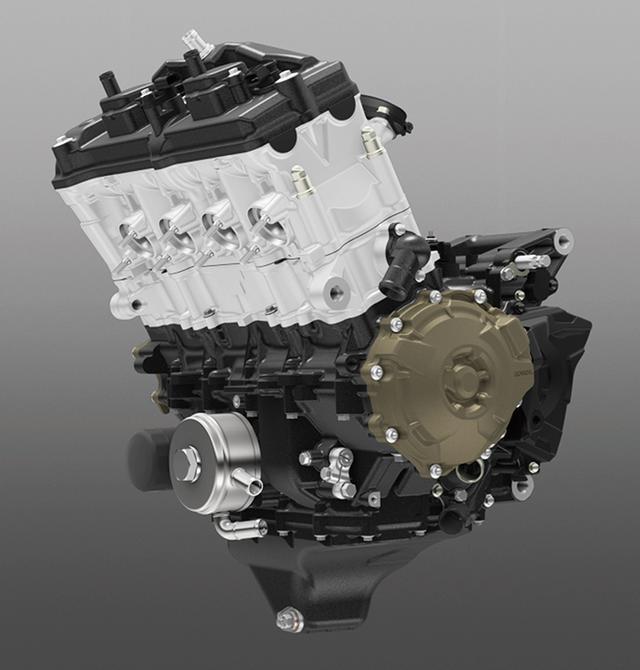 画像: エンジンは新型CBR用?