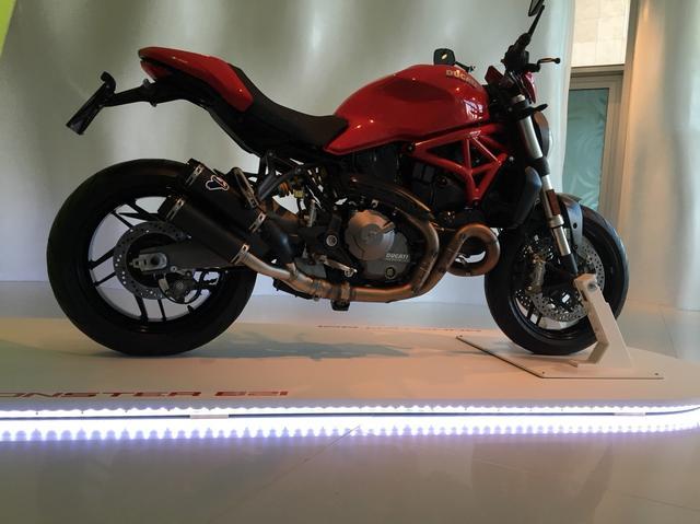 画像5: 新型DUCATI モンスター821の試乗会がイタリアで開催中!