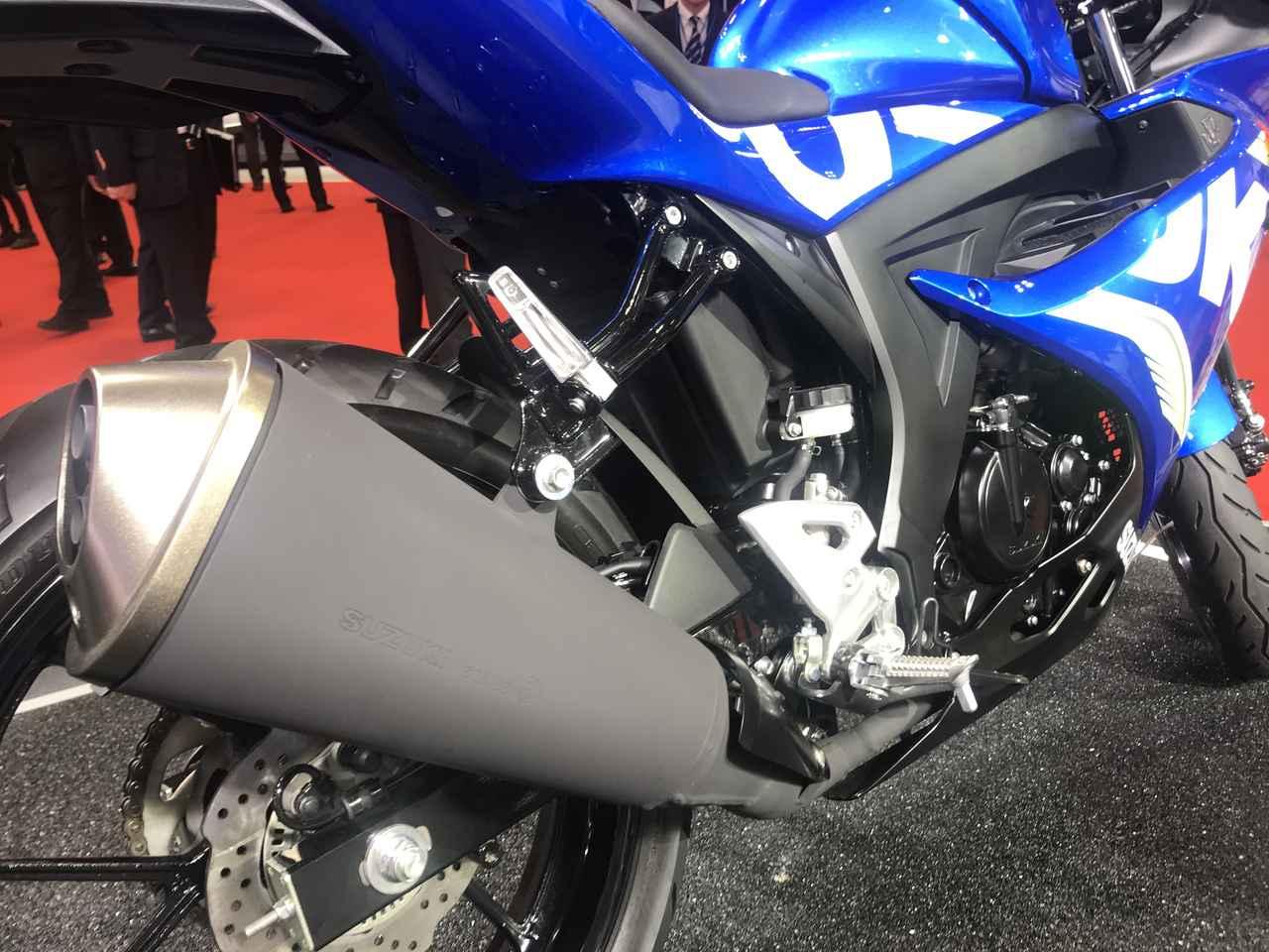 画像: 水冷DOHC・4バルブ125ccエンジンは高いパフォーマンスを誇る