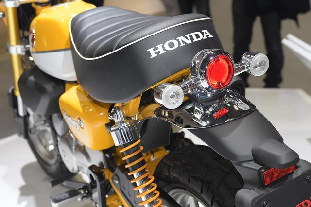 画像17: 【TMS2017】注目のHONDA Monkey125が日本でお披露目!