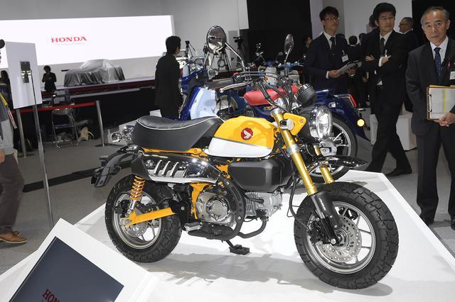 画像1: 【TMS2017】注目のHONDA Monkey125が日本でお披露目!