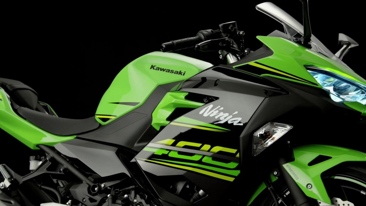 画像: Kawasaki Ninja 400 Studio Video youtu.be