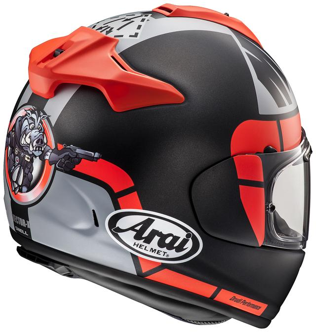 画像1: 「ベクターX」がベースの最新レプリカヘルメット!