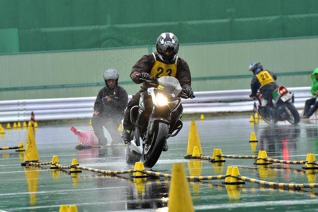 画像: NO級12位 杉山卓司選手&Z250 2分07秒382
