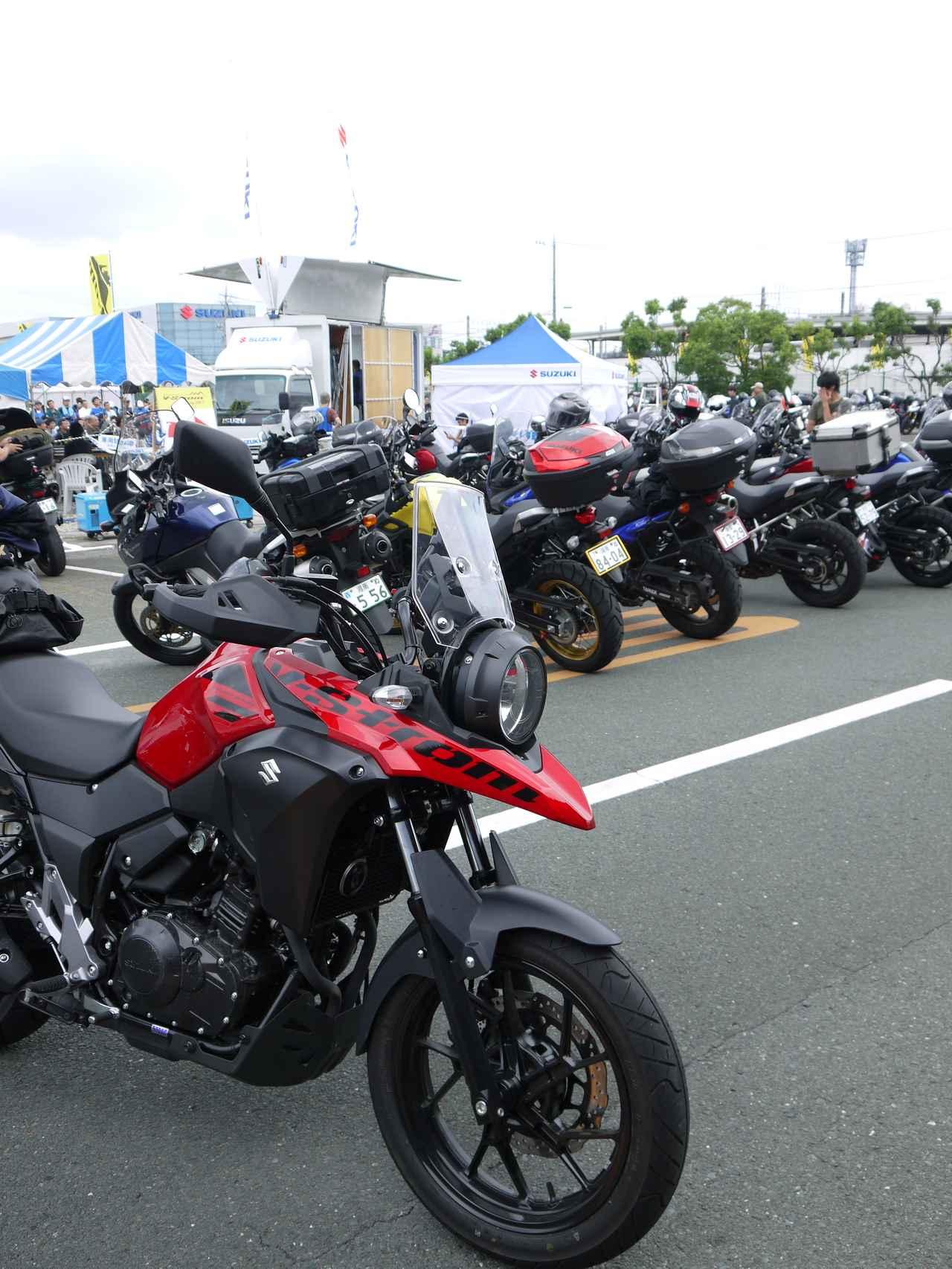 画像: 1週間で3947Km! オートバイと一週間生活『SUZUKI V-Strom250編』1日目