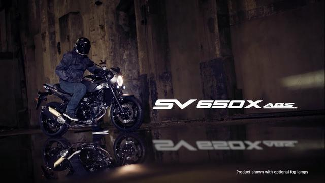 画像: SV650X ABS official promotional movie youtu.be