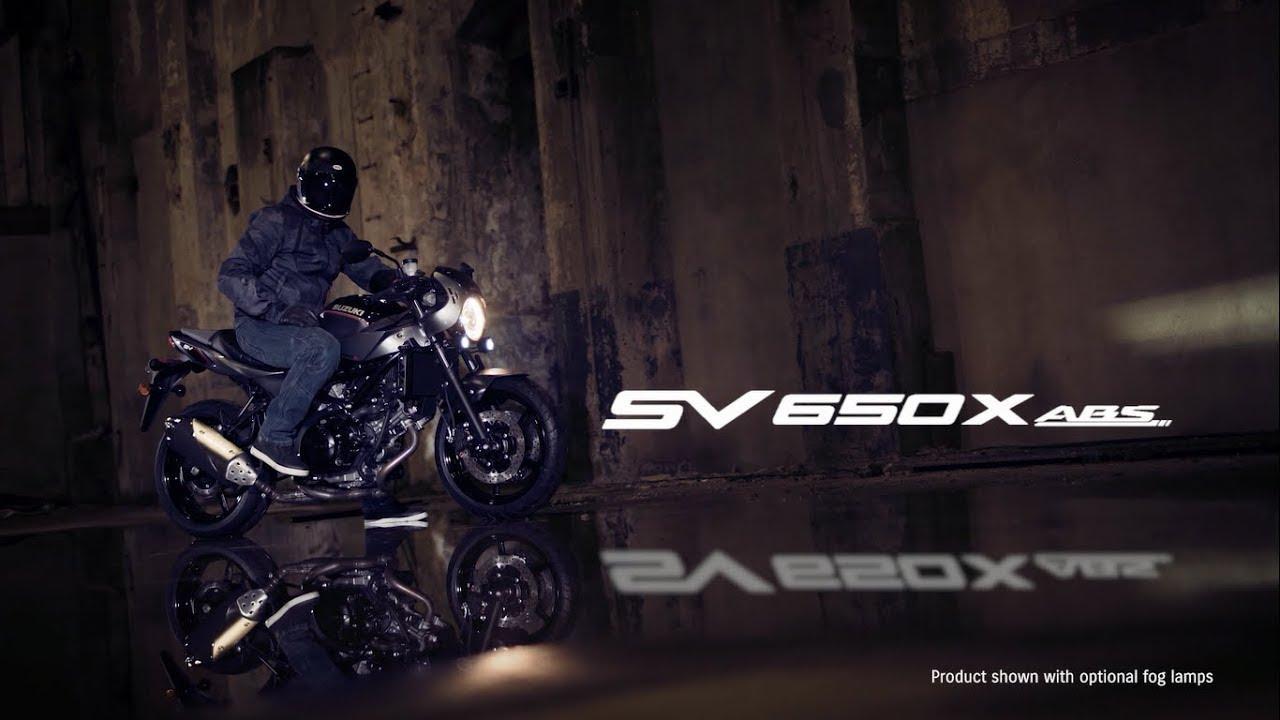 画像: SV650X ABS official promotional movie youtu.be
