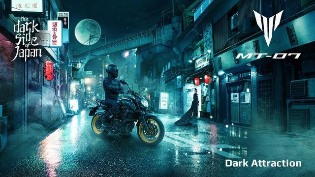 画像: 2018 Yamaha MT-07 - Dark attraction youtu.be
