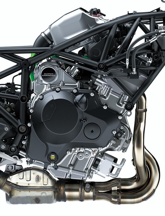 画像2: エンジンは全面新設計・バランス型スーパーチャージドユニット。 パワーは200PS(ラムエア過給時210PS)でも扱いやすさが違う!?