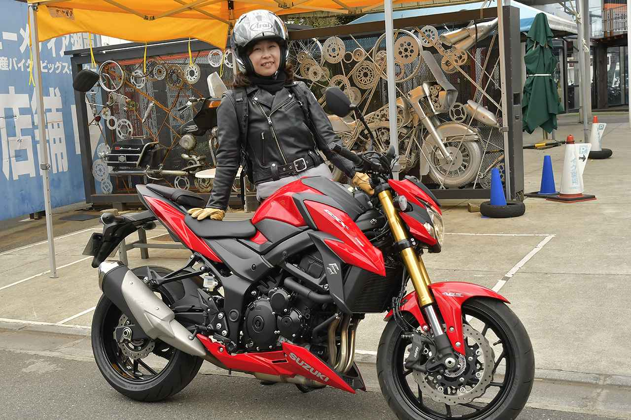 画像: 当日はまず、ユーメディア湘南店の参加者さんと集合。GSX-S750Sをお借りして出発しました。とても乗りやすいバイクだったので、私なりのインプレはまた別記事にて書かせて頂きます〜。