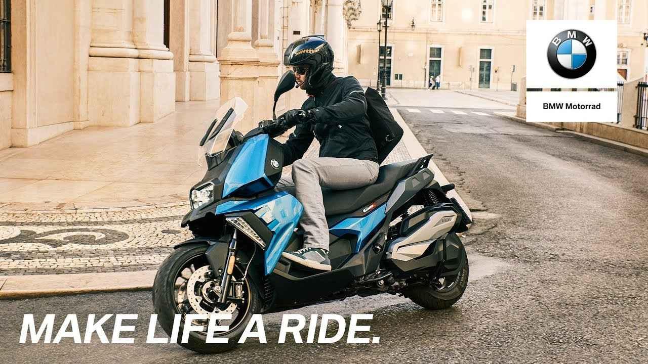 画像: The new C 400 X with BMW Motorrad Connectivity. www.youtube.com