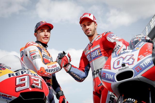 画像: レース前にこんなんやらされていた両雄 The Final showdown っていちいちカッコよろしい