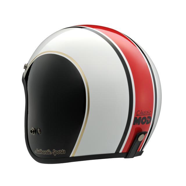 画像4: ベースはアライヘルメットの「CLASSIC MOD」