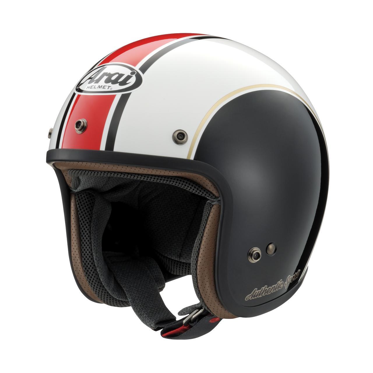 画像2: ベースはアライヘルメットの「CLASSIC MOD」