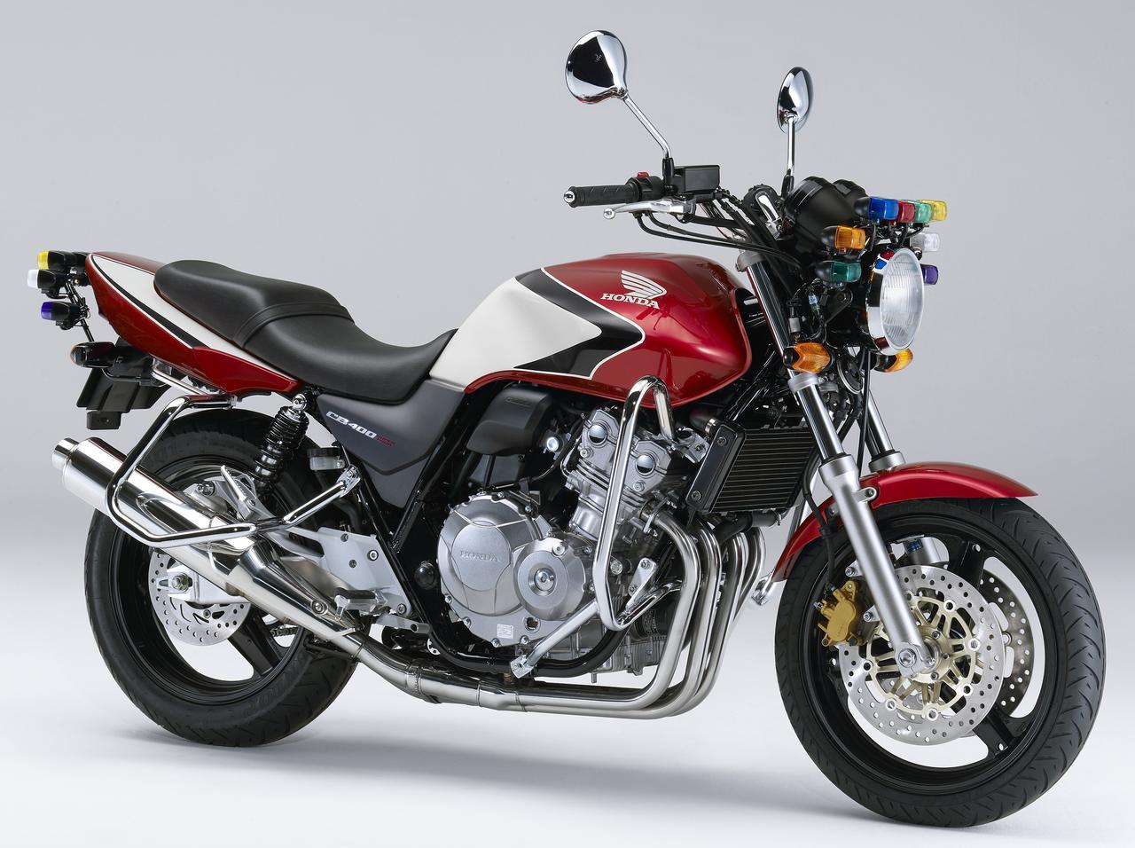 画像: CB400 SUPER FOUR(教習車仕様)(キャンディーブレイジングレッド)■税込価格:93万5280円