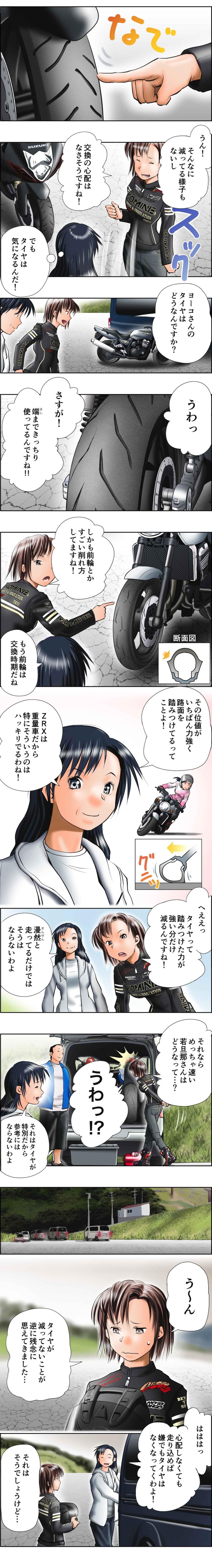 画像4: MOTOジム!(第6話:使い切ることを目指して!)  作・ばどみゅーみん