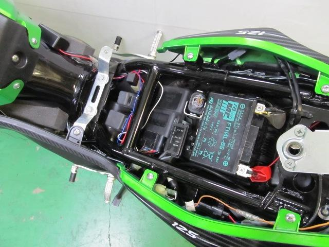 画像2: 3Gセンサー搭載のスマートアラームにカワサキ Z125 PRO専用モデル登場