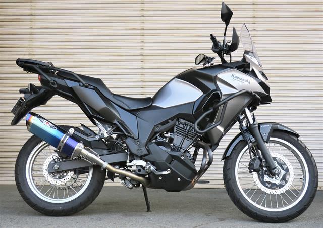 画像: '17~ VERSYS-X 250 NASSERT-Evolution TypeⅡ スリップオン 発売