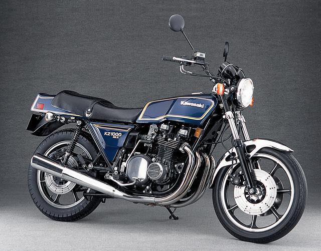 画像: Kawasaki Z1000Mk-II(1979年)