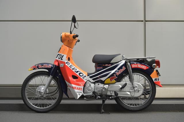 画像6: 2017シーズンに活躍したレーシングマシンも展示!
