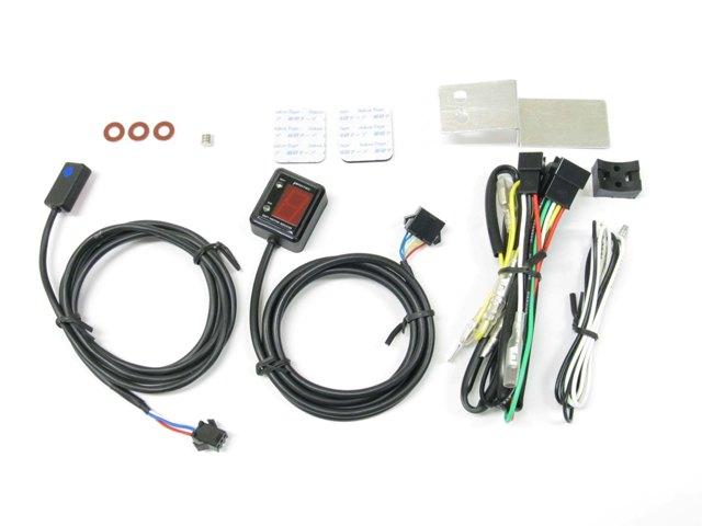 画像: 配線は専用のエレクトロタップで簡単接続