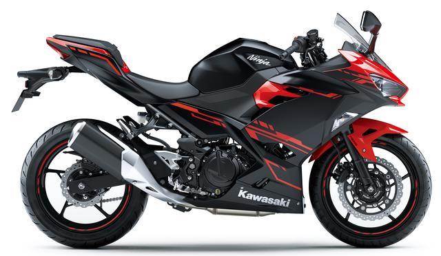 画像2: Kawasaki Ninja 250(パッションレッド×メタリックフラットスパークブラック)■税込価格:640,440円