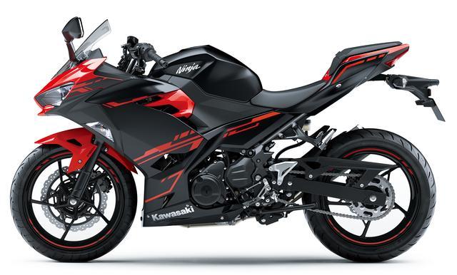 画像3: Kawasaki Ninja 250(パッションレッド×メタリックフラットスパークブラック)■税込価格:640,440円