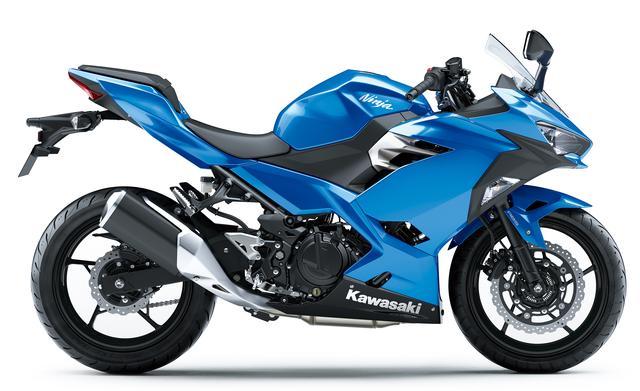 画像2: Kawasaki Ninja 250(キャンディプラズマブルー)■税込価格:629,640円