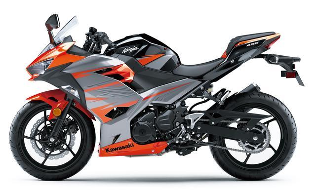 画像3: Kawasaki Ninja 400 (キャンディバーントオレンジ×メタリックマグネティックグレー)■税込価格:716,040円