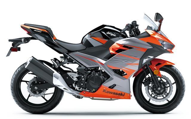 画像2: Kawasaki Ninja 400 (キャンディバーントオレンジ×メタリックマグネティックグレー)■税込価格:716,040円