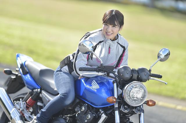 画像: ほぼ月刊「梅本まどかとオートバイ」vol.14 ホンダ CB400SF