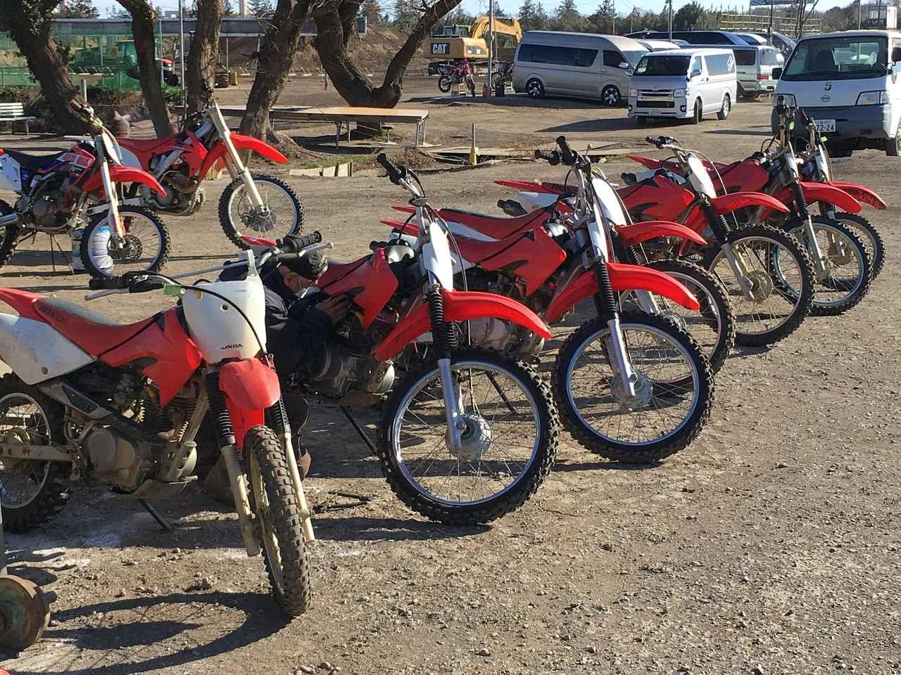 画像: レンタルバイクも用意されています 料金なんかは下記リンクで確認してください