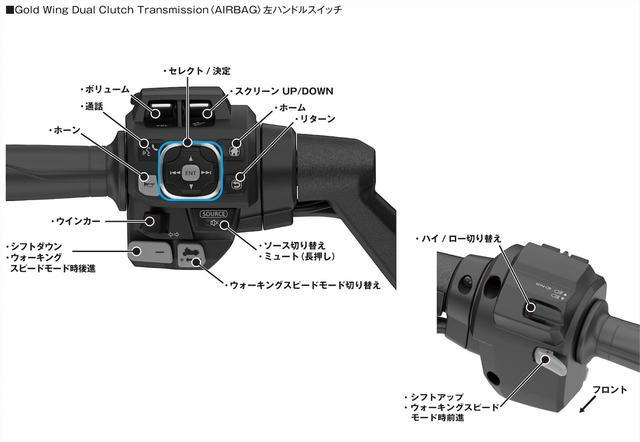 画像3: Gold Wing Tour Dual Clutch Transmission<AIRBAG>