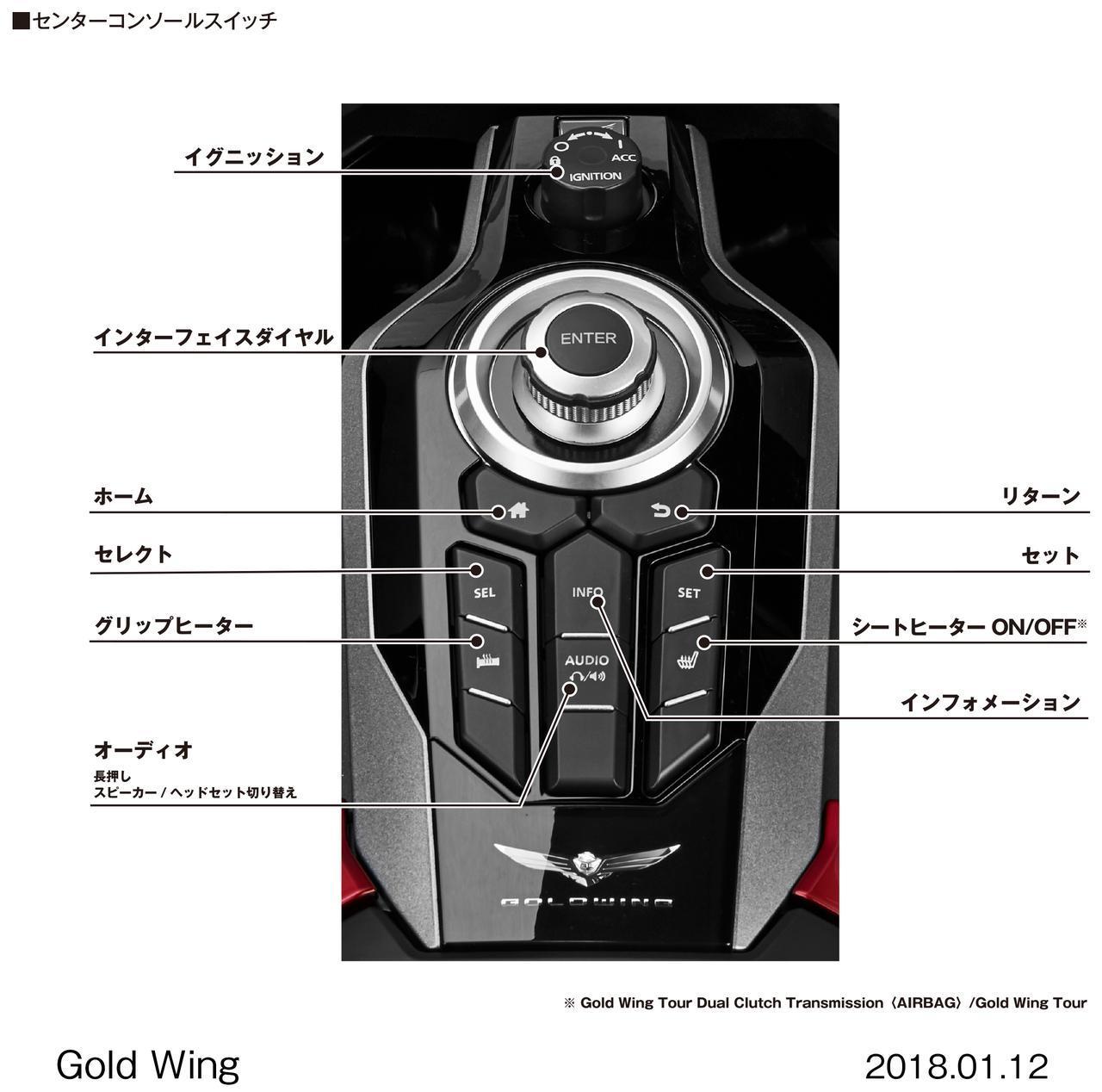 画像1: かつてない快適性と走りの感動を求めて。 ゴールドウイングが17年ぶりにフルモデルチェンジ! Honda Gold Wing/Gold Wing Tour