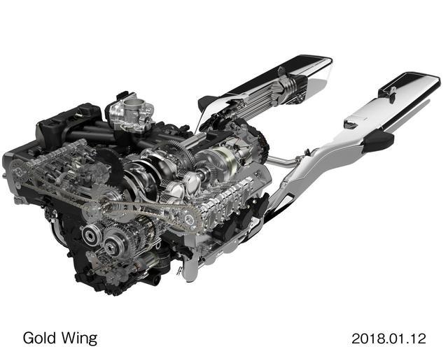 画像: クルージング性能とダイナミックな加速性能を両立した新設計1800cc水冷4ストローク水平対向6気筒エンジンを搭載する。