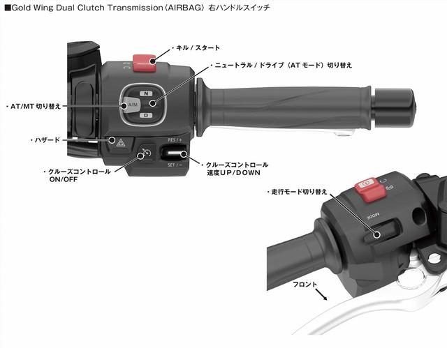 画像2: Gold Wing Tour Dual Clutch Transmission<AIRBAG>