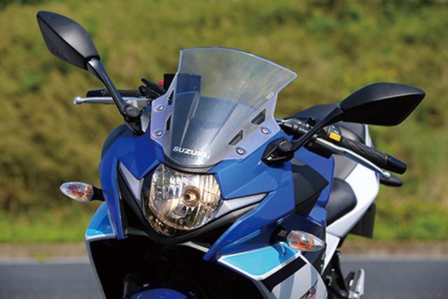画像: ヘッドライト両サイドに面発光LEDのポジションランプをV字に設けた迫力ある面構え。