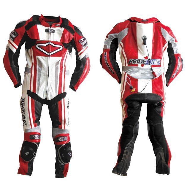 画像1: Hit Air製ネックエアバッグ・システムを標準装備した既製サイズのレーシングスーツ