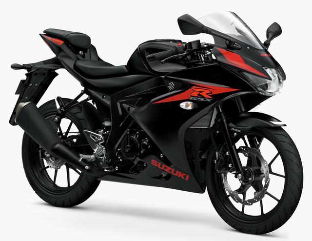画像1: SUZUKI GSX-R125 ABS(ソリッドブラック・半ツヤ)