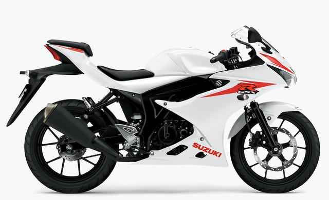 画像2: SUZUKI GSX-R125 ABS(ブリリアントホワイト)