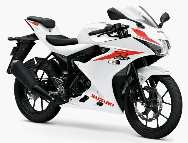画像1: SUZUKI GSX-R125 ABS(ブリリアントホワイト)