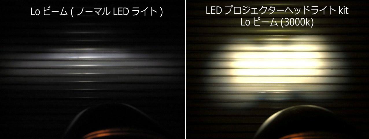 画像5: スーパーカブ110用に今度は30W・LEDプロジェクターヘッドライト