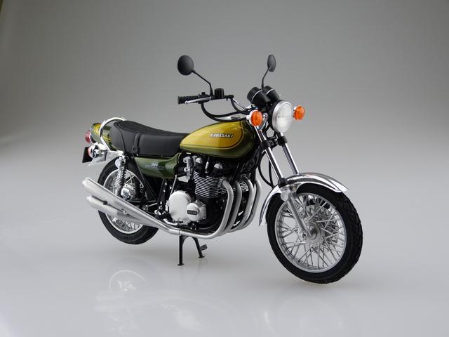 画像3: AOSHIMA 1/12 バイク シリーズ KAWASAKI 900 SUPER4 Z1(1973年式)2月発売