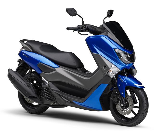 画像1: YAMAHA NMAX ABS(ビビッドパープリッシュブルーカクテル5) ■価格:35万1000円
