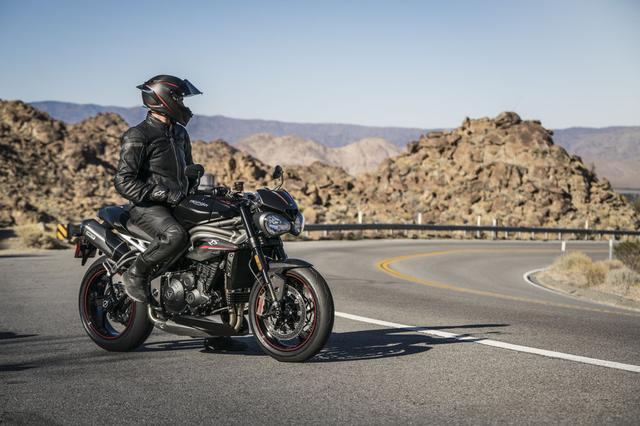 画像: Triumph Motorcyclesチーフエンジニア「Mr. Stuart Wood 」のコメント