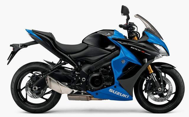 画像: SUZUKI GSX-S1000F ABS(既存色:グラススパークルブラック/トリトンブルーメタリック)