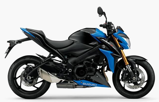 画像: SUZUKI GSX-S1000 ABS(既存色:グラススパークルブラック/トリトンブルーメタリック)