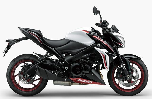 画像2: SUZUKI GSX-S1000 ABS(新色:パールグレッシャーホワイト/グラススパークルブラック ※特別色)